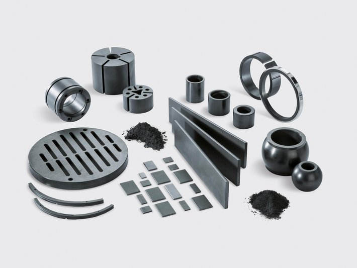 SIGRAFINE Die-Molded Components for Mechanical Applications