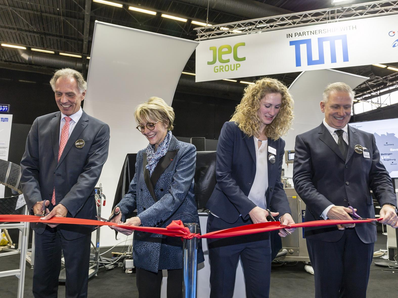 Inauguration of Fiber Placement Center together with Fraunhofer IGCV
