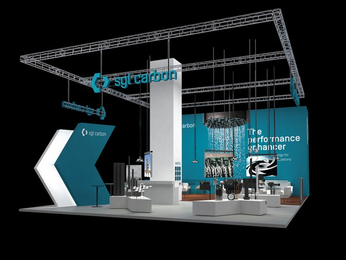 SGL Carbon's booth at the ACHEMA 2018