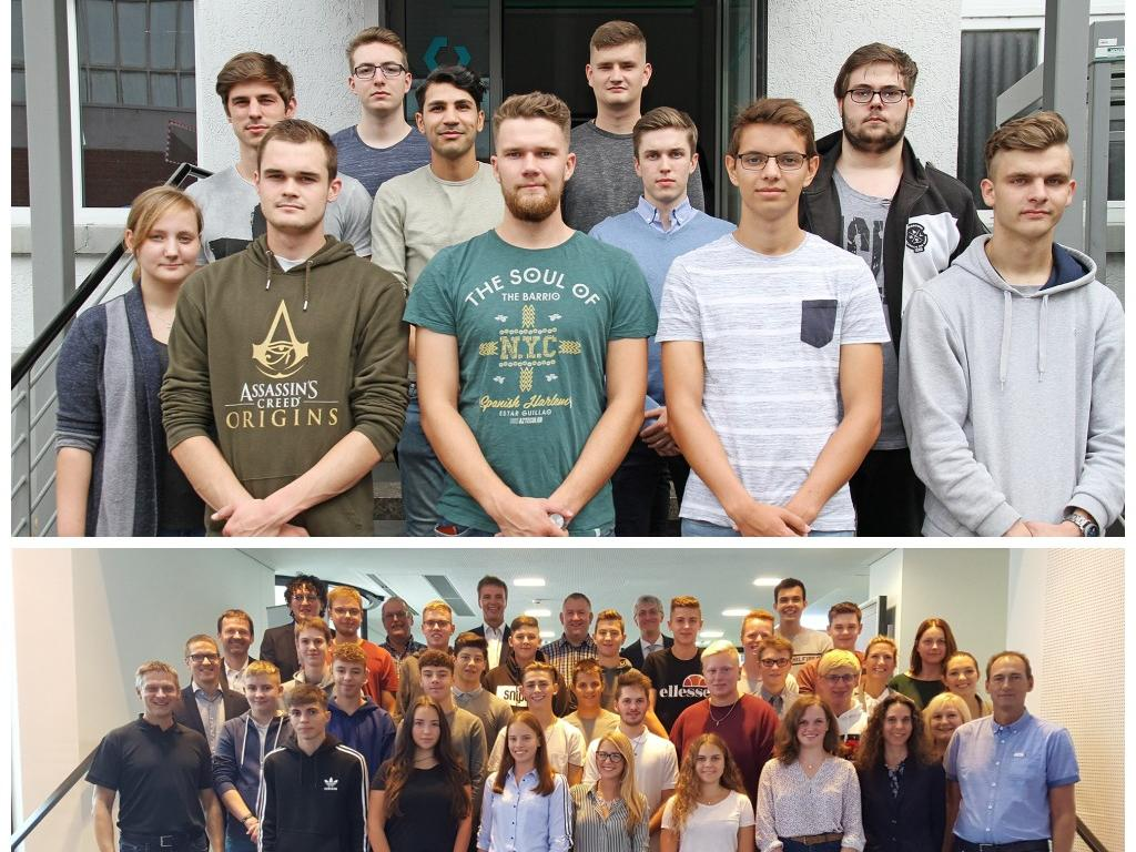 The new apprentices of SGL Carbon in Bonn and Meitingen