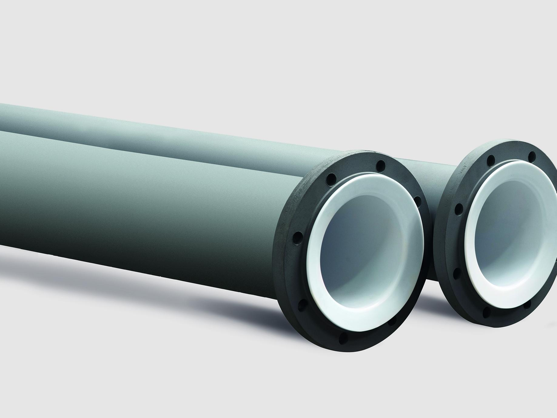 POLYFLURON PTFE lined pipes and fittings