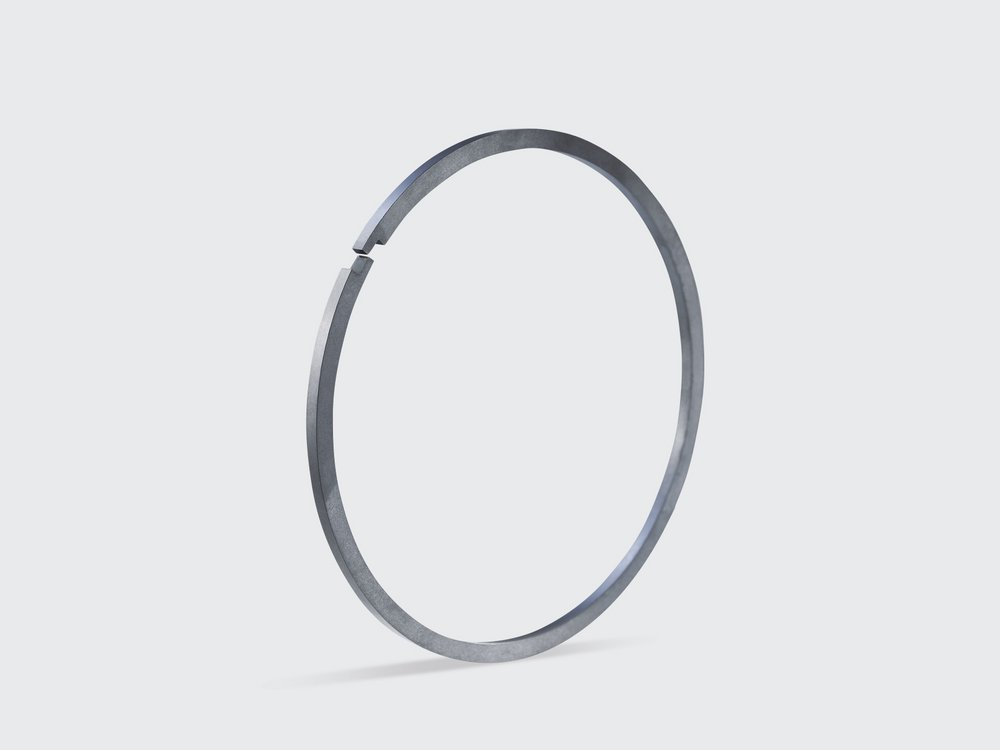 Seal rings made from SGL Carbon's SIGRAFINE specialty graphites for gaskets, ventilators, propeller shafts and centrifugal pumps