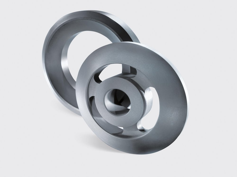 SGL Carbon's steam-admission head rings for rotary feedthroughs in mechanical engineering