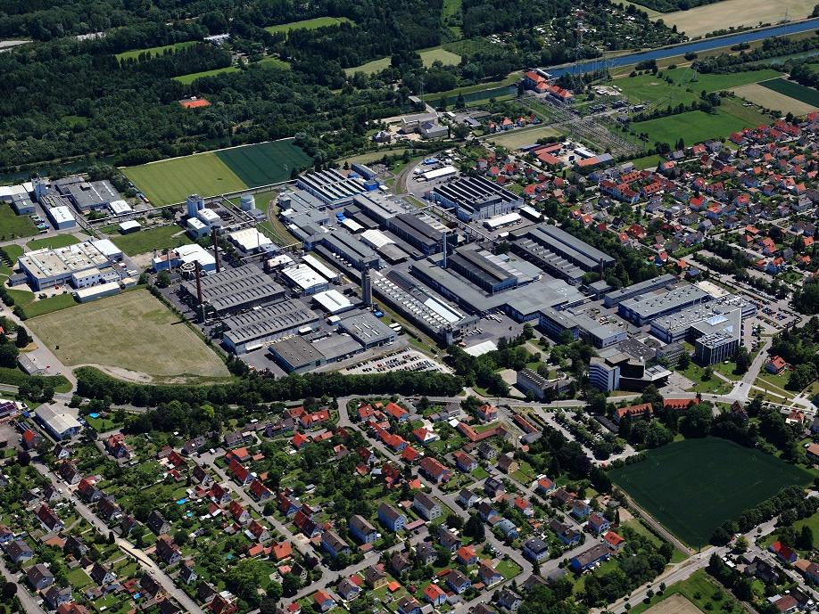 SGL Carbon's Meitingen site from above
